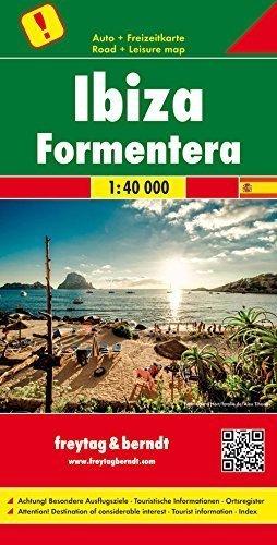 IBIZA FORMENTERA mapa turystyczna 1:40 000 FREYTAG & BERNDT