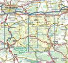 BESKID WYSPOWY laminowana mapa turystyczna 1:50 000 COMPASS 2020 (3)