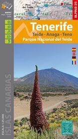 TENERYFA, PN TEIDE - ANAGA - TENO mapa turystyczna 1:25 000 ALPINA 2020