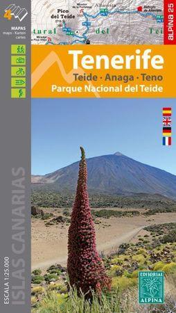 TENERYFA, PN TEIDE - ANAGA - TENO mapa turystyczna 1:25 000 ALPINA 2020 (1)