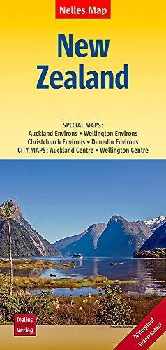 NOWA ZELANDIA mapa samochodowa 1:1 250 000 NELLES 2019 (1)
