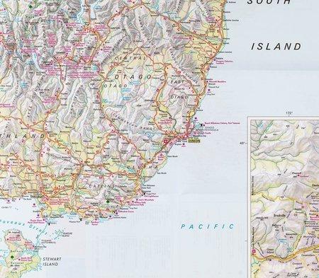 NOWA ZELANDIA mapa samochodowa 1:1 250 000 NELLES 2019 (3)
