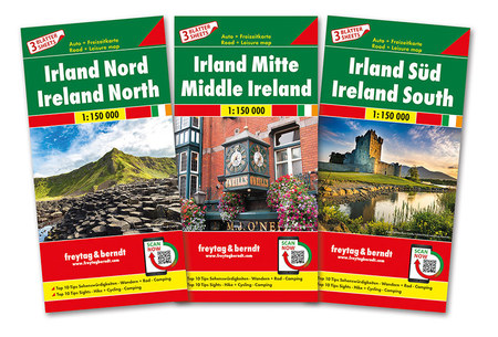 IRLANDIA 3 mapy 1:150 000 FREYTAG & BERNDT 2020 (1)