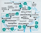 INNVIERTEL HAUSRUCK 201 mapa turystyczna 1:50 000 KOMPASS (2)