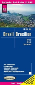 BRAZYLIA W.5 mapa 1:3 850 000 REISE KNOW HOW 2020