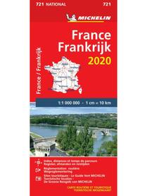 FRANCJA mapa 1:1 000 000 MICHELIN 2020