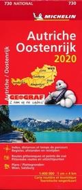 AUSTRIA mapa 1:400 000 MICHELIN 2020