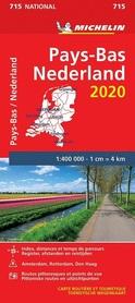 HOLANDIA mapa 1:400 000 MICHELIN 2020