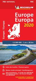 EUROPA mapa 1:3 000 000 MICHELIN 2020