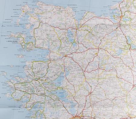 IRLANDIA mapa 1:400 000 MICHELIN 2020 (3)