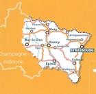 ALZACJA LOTARYNGIA mapa 1:200 000 MICHELIN 2020 (3)