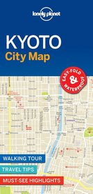 KYOTO  W.1 CityMap plan miasta LONELY PLANET 2017