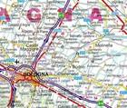 WŁOCHY PÓŁNOCNE mapa laminowana 1:650 000 EXPRESSMAP (3)