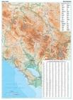 CZARNOGÓRA, PÓŁNOCNA ALBANIA mapa geograficzna 1:200 000 GIZIMAP 2019 (2)