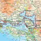 CZARNOGÓRA, PÓŁNOCNA ALBANIA mapa geograficzna 1:200 000 GIZIMAP 2019 (6)