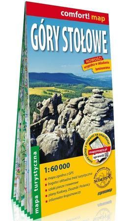 GÓRY STOŁOWE laminowana mapa turystyczna 1:60 000 EXPRESSMAP 2020 (1)