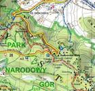 GÓRY STOŁOWE laminowana mapa turystyczna 1:60 000 EXPRESSMAP 2020 (2)