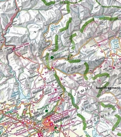 HIMALAJE mapa wodoodporna 1:1 500 000 NELLES 2019 (3)