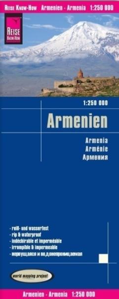 ARMENIA mapa 1:250 000 REISE KNOW HOW 2020 (1)
