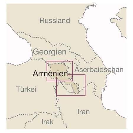 ARMENIA mapa 1:250 000 REISE KNOW HOW 2020 (2)