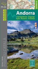 ANDORA mapa turystyczna 1:40 000 ALPINA EDITORIAL 2019