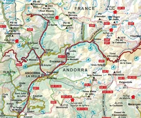 ANDORA mapa turystyczna 1:40 000 ALPINA EDITORIAL (2)