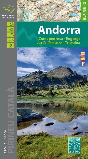 ANDORA mapa turystyczna 1:40 000 ALPINA EDITORIAL (1)