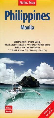 FILIPINY MANILA mapa samochodowa NELLES