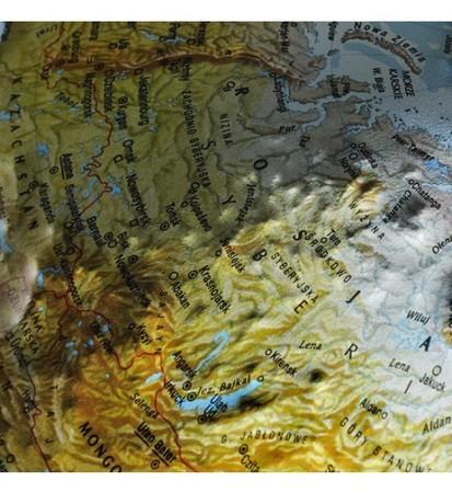 GLOBUS RELIEF podświetlany 30 cm PLASTYCZNY Nova Rico (3)
