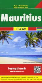 MAURITIUS mapa turystyczna 1:50 000 FREYTAG & BERNDT