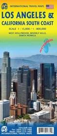 LOS ANGELES I POŁUDNIOWA KALIFORNIA mapa 1:15 000/1:1 000 000 ITMB