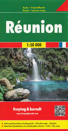REUNION mapa turystyczna 1:50 000 FREYTAG & BERNDT