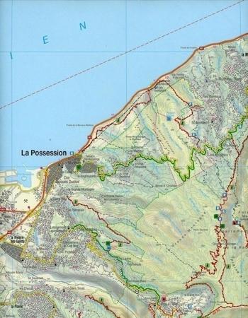 REUNION mapa turystyczna 1:50 000 FREYTAG & BERNDT (3)