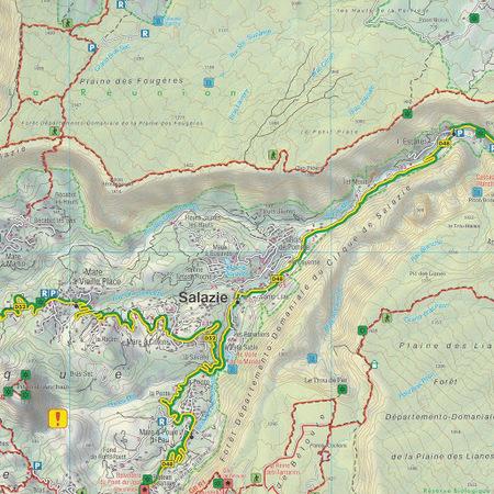 REUNION mapa turystyczna 1:50 000 FREYTAG & BERNDT (5)