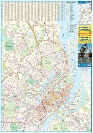 DANIA I KOPENHAGA mapa samochodowa 1:450 000/1:10 000 ITMB (3)