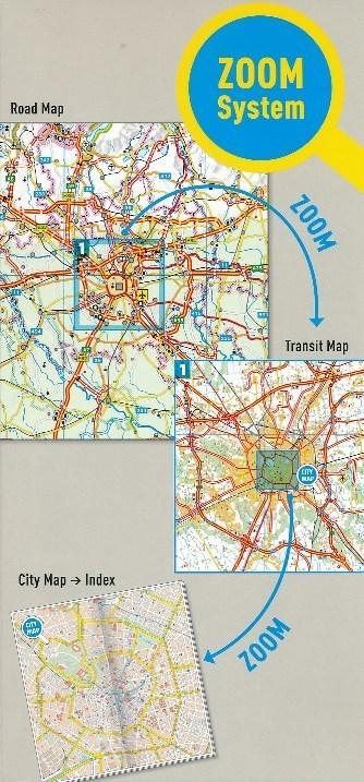 SŁOWACJA mapa samochodowa 1:300 000 MARCO POLO ZOOM (3)