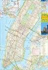 MANHATTAN NOWY JORK 1:12 500  plan miasta i mapa OD BOSTONU DO WASZYNGTONU 1:1 000 000 ITMB (3)