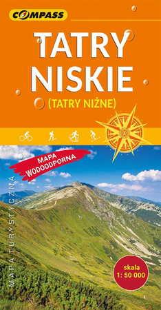 TATRY NISKIE - NIŻNE TATRY laminowana mapa turystyczna 1:50 000 COMPASS 2019 (1)
