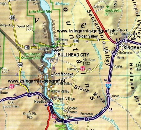 USA Południowo-Zachodnie (South-West USA) mapa laminowana 1:1 350 000 EXPRESSMAP 2019 (2)