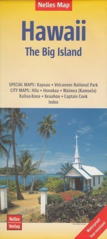 HAWAJE The Big Island wodoodporna mapa samochodowa 1:330 000 NELLES