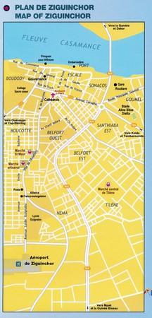 SENEGAL DAKAR mapa turystyczno - drogowa LAURA KANE 2020 (3)