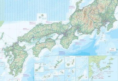 JAPONIA mapa wodoodporna 1:1 100 000 ITMB 2018 (4)