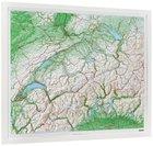 SZWAJCARIA mapa plastyczna 82 x 68 cm KUMMERLY+FREY bez ramy (1)