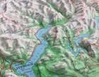 SZWAJCARIA mapa plastyczna 82 x 68 cm KUMMERLY+FREY bez ramy (5)