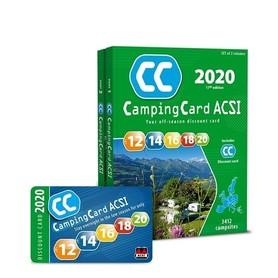 EUROPA Przewodnik CampingCard ACSI i karta rabatowa 2020