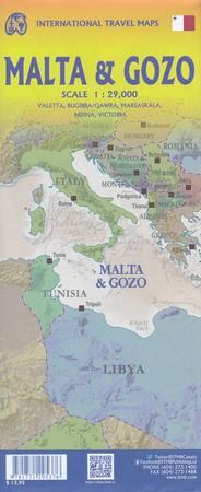 MALTA I GOZO 3 mapa 1:29 000 ITMB 2020 (2)