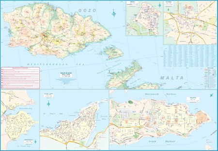 MALTA I GOZO 3 mapa 1:29 000 ITMB 2020 (3)