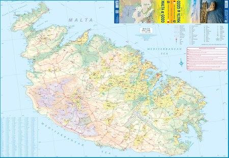 MALTA I GOZO 3 mapa 1:29 000 ITMB 2020 (4)