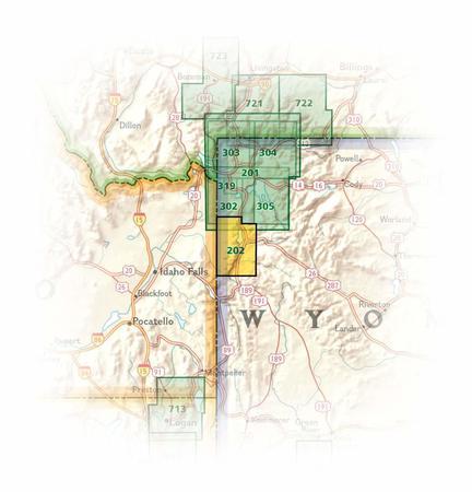 GRAND TETON NP 202 mapa wodoodporna 1:31 680 NATIONAL GEOGRAPHIC 2019 (4)