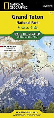 GRAND TETON NP 202 mapa wodoodporna 1:31 680 NATIONAL GEOGRAPHIC 2019 (1)